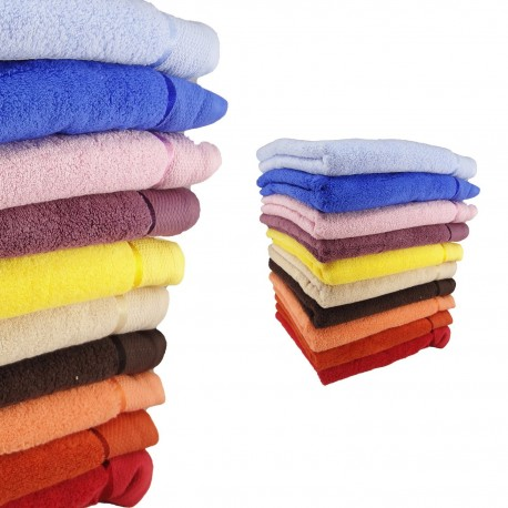 SUPERSOFT COTTON towel with embroidery