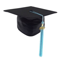 Graduation Cap STANDARD - black