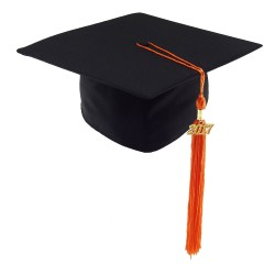 Graduation Cap MATT - black
