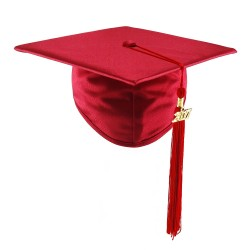 Graduation Cap STANDARD - red