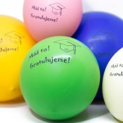 Dárek k promoci - balónky na oslavu promoce