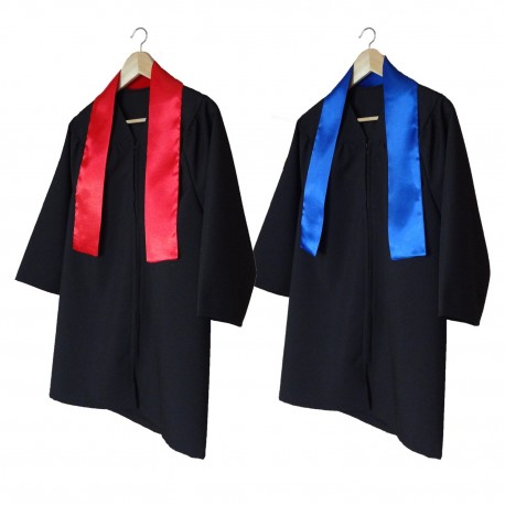 Children gown with red stole