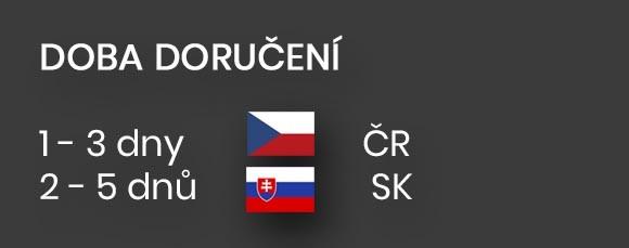Rychlé doručení po České republice i na Slovensko